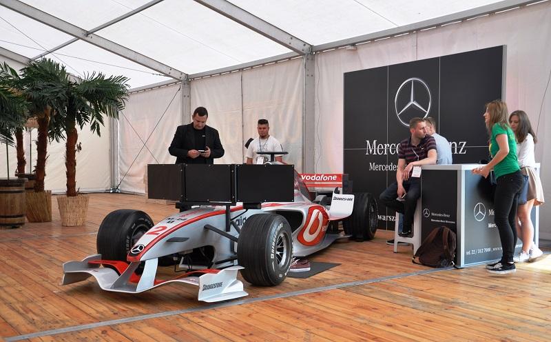Symulator F1 w skali 11