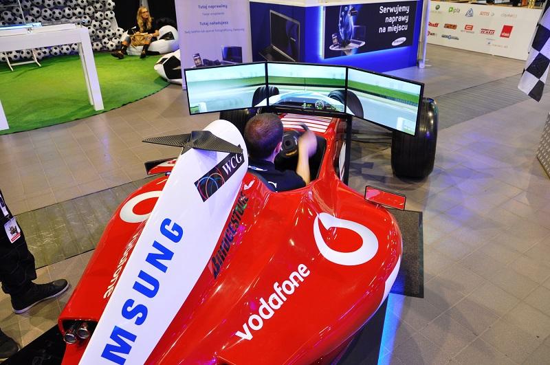 Symulator F1 wynajem Warszawa