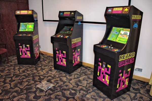 automaty do gier Arcade