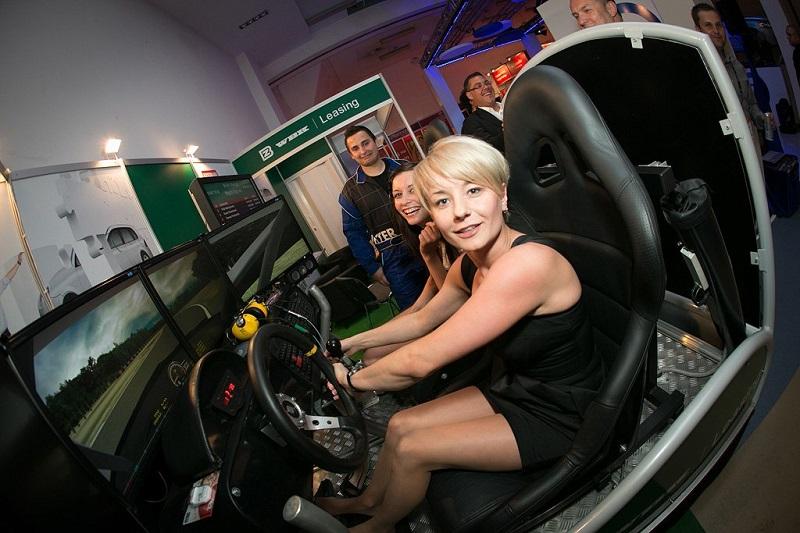 wynajem symulatorów jazdy WRC