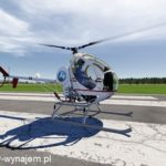 Symulator helikoptera.