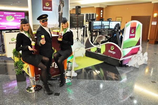 Symulator lotu nad Warszawą na eventy i imprezy