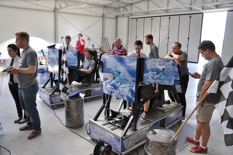 Symulatory na pikniki lotnicze