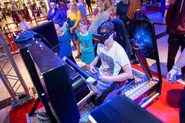 symulator kosmiczny VR 5D wynajem na imprezy