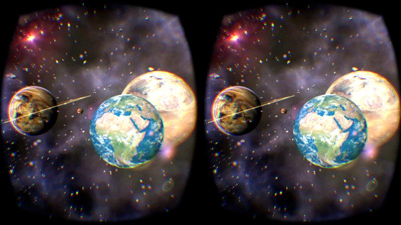 VR symulator kosmiczny wynajem