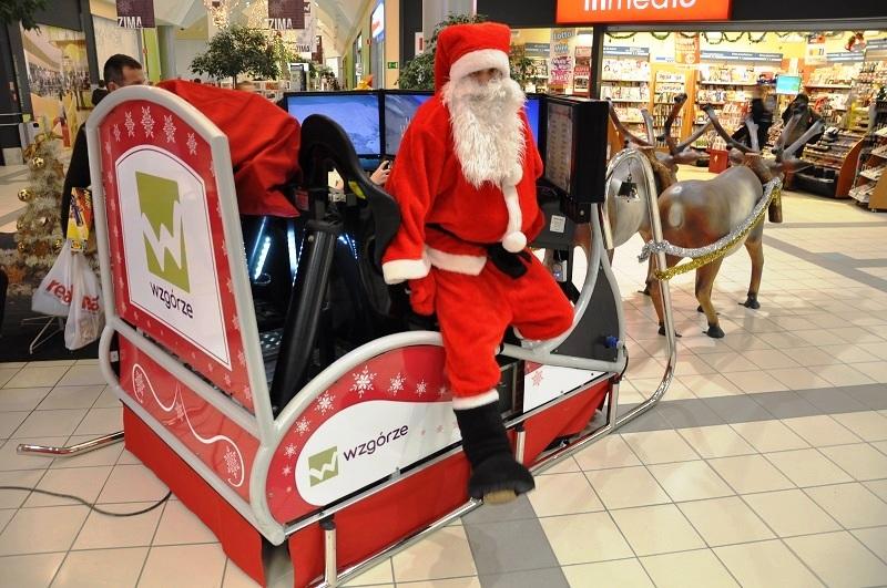 Sanie Świętego Mikołaja wynajem na imprezy swiateczne, wigilijne