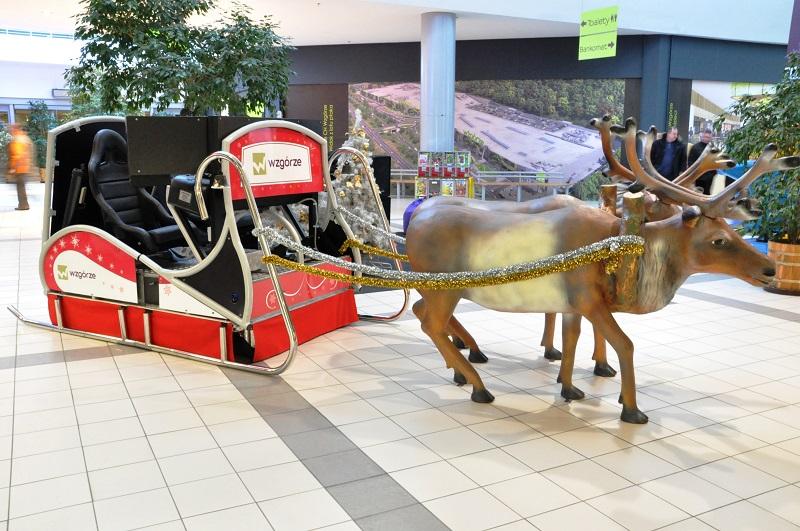 Sanie Świętego Mikołaja wynajem
