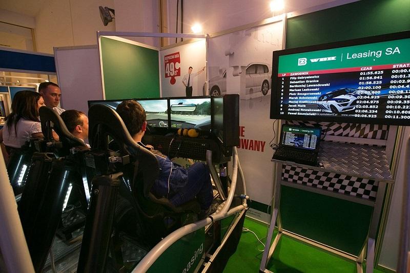 Symulator WRC - WBK Leasing.