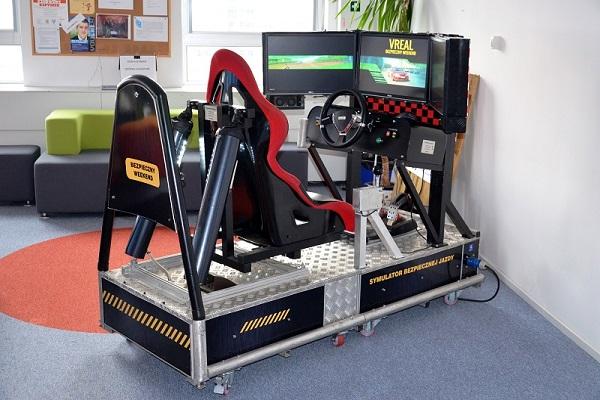 Impreza BHP Jazdy - Symulator Bezpiecznej Jazdy