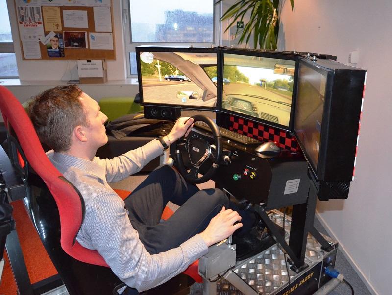 edukacyjny Symulator jazdy vr wynajem Łódź