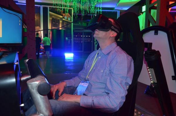 5D VR symulator kosmiczny