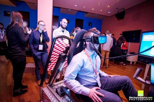 VR symulator kosmiczny