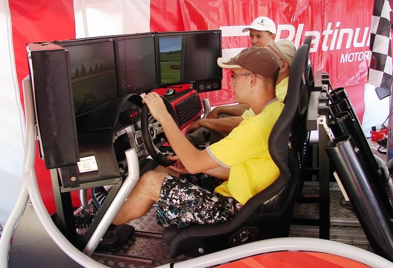 Symulator samochodu Tira