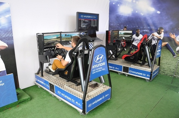 Symulatory samochodowe - targi