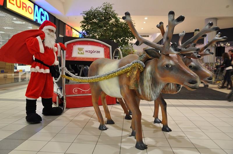 Sanie Świętego Mikołaja | atrakcje świąteczne wynajem