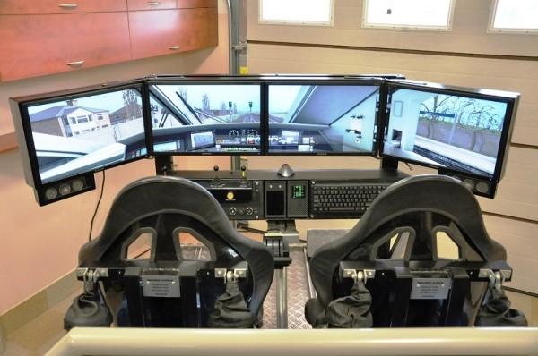 symulator lokomotywy i jazdy pociągiem wynajem na imprezy podróżnicze