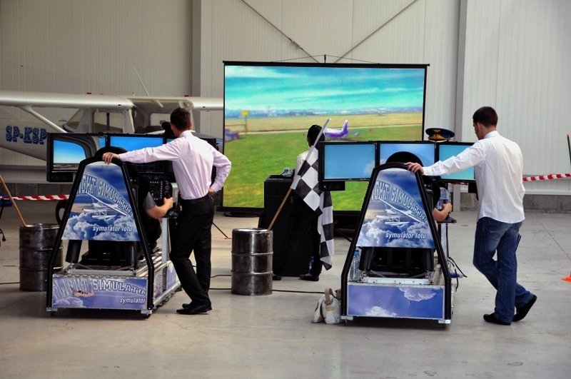 Symulator lotów modelami