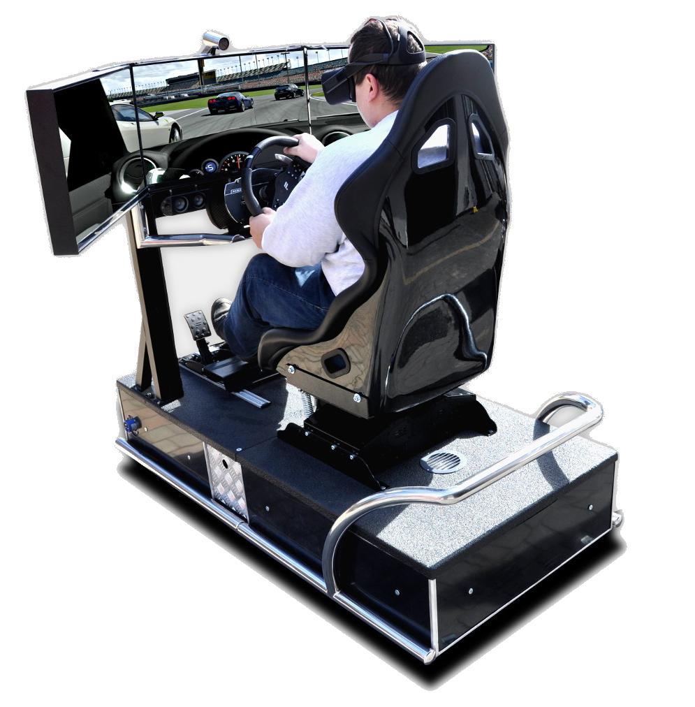 symulator jazdy na eventy vr