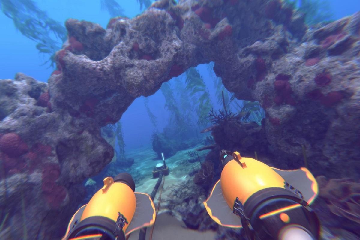 symulator statku i łodzi podwodnej vr na morskie imprezy wynajem