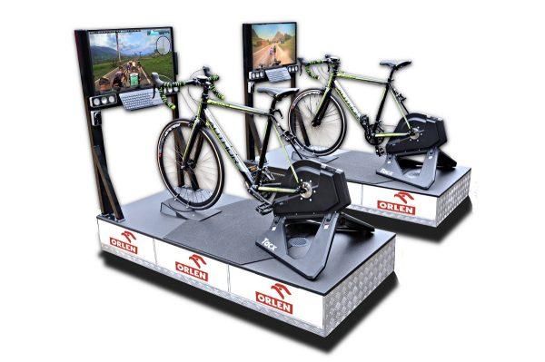 symulator jazdy rowerem VR wynajem