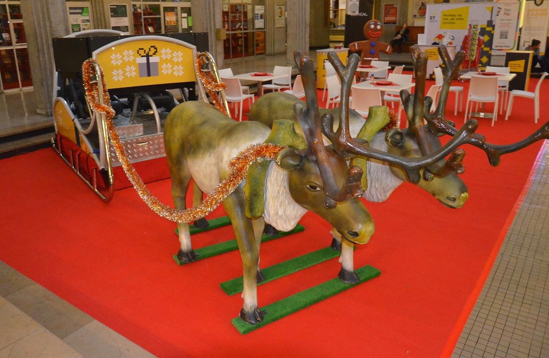 impreza świąteczna - wynajem atrakcji na spotkanie świąteczne
