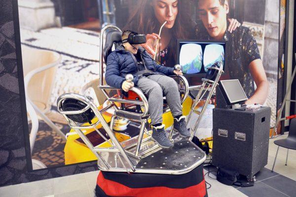 Platforma 9D VR na wynajem MineCraft w Gemini Park Tychy