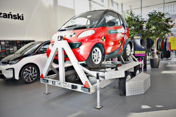 Symulator dachowania na premierze BMW X2 - Salon BMW Kraków-1