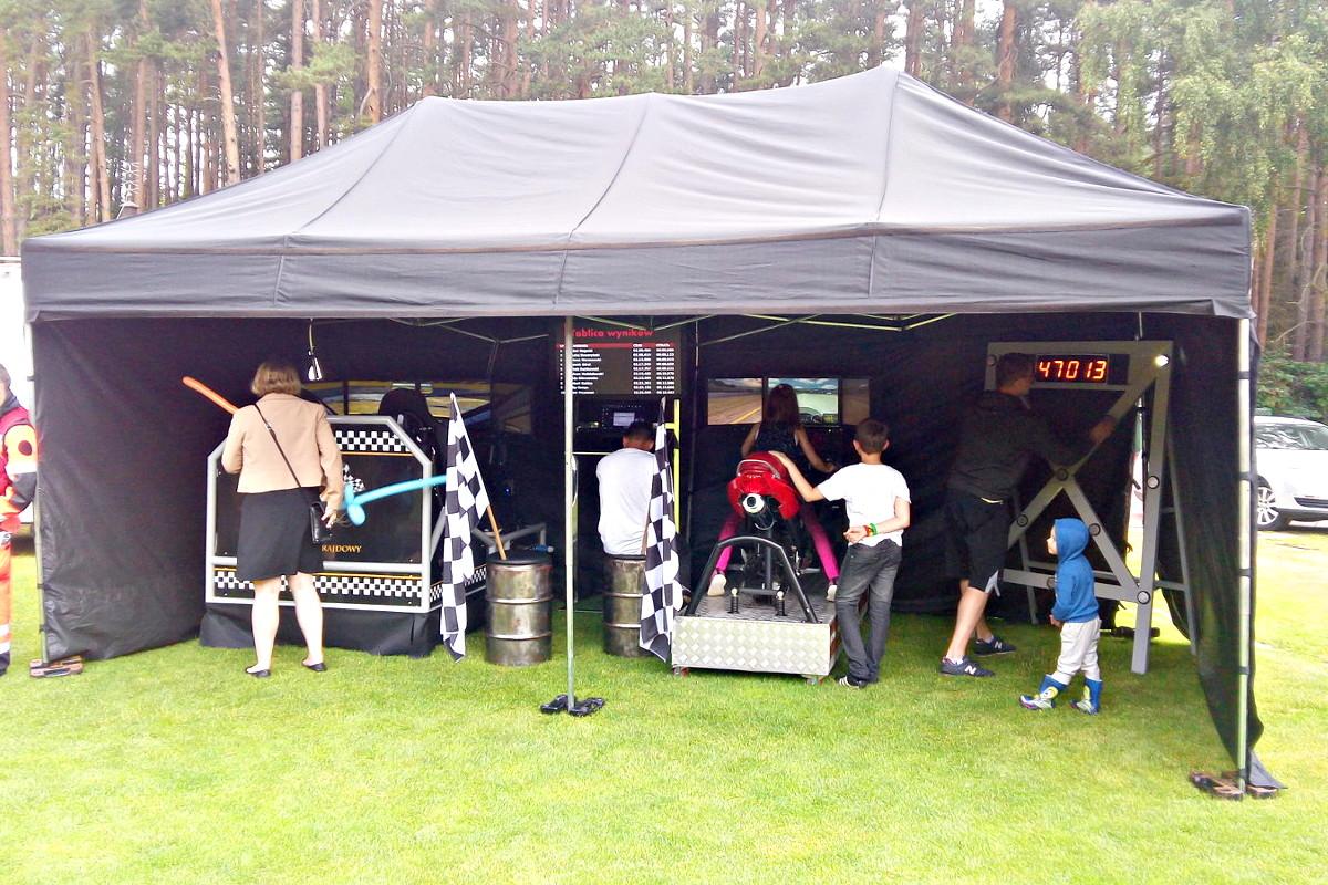 Symulatory na wynajem - MOSiR Gdańsk namiot