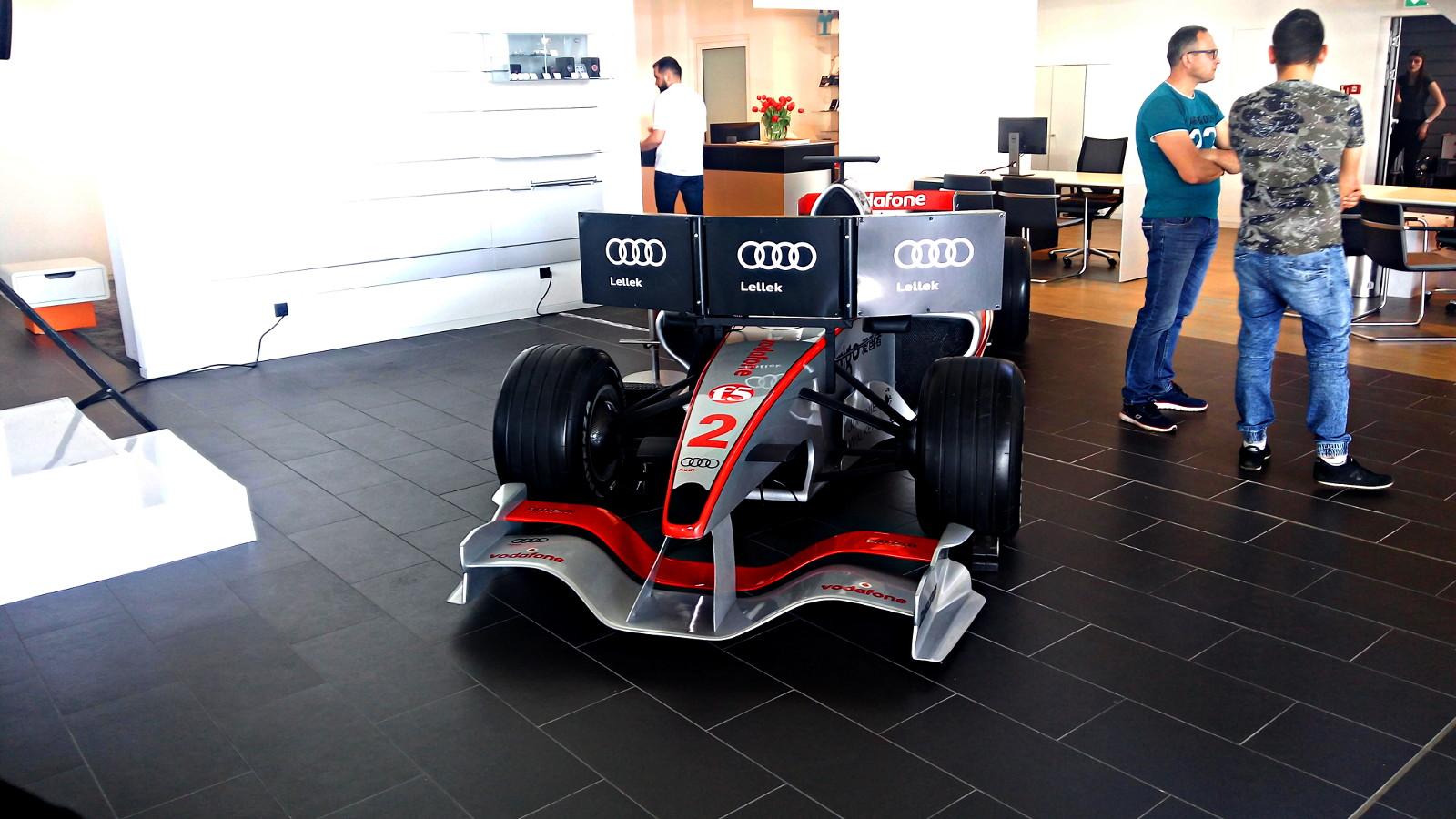 bolid F1 - symulator f1 na wynajem