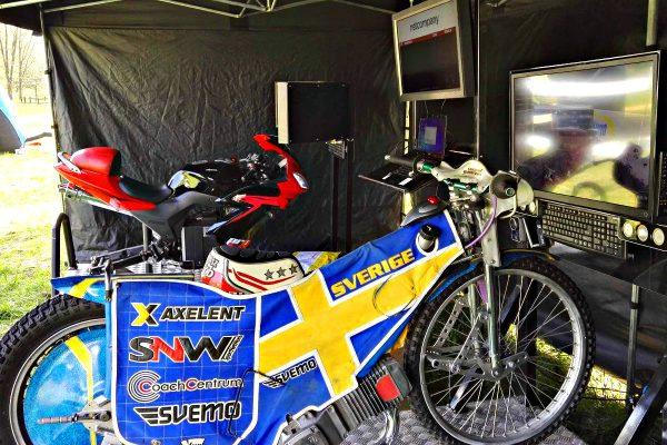 symulatory motocykli - park powiesin warszawa wynajem