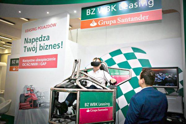 symulator lotu vr - kongres dealerów samochodów 2017