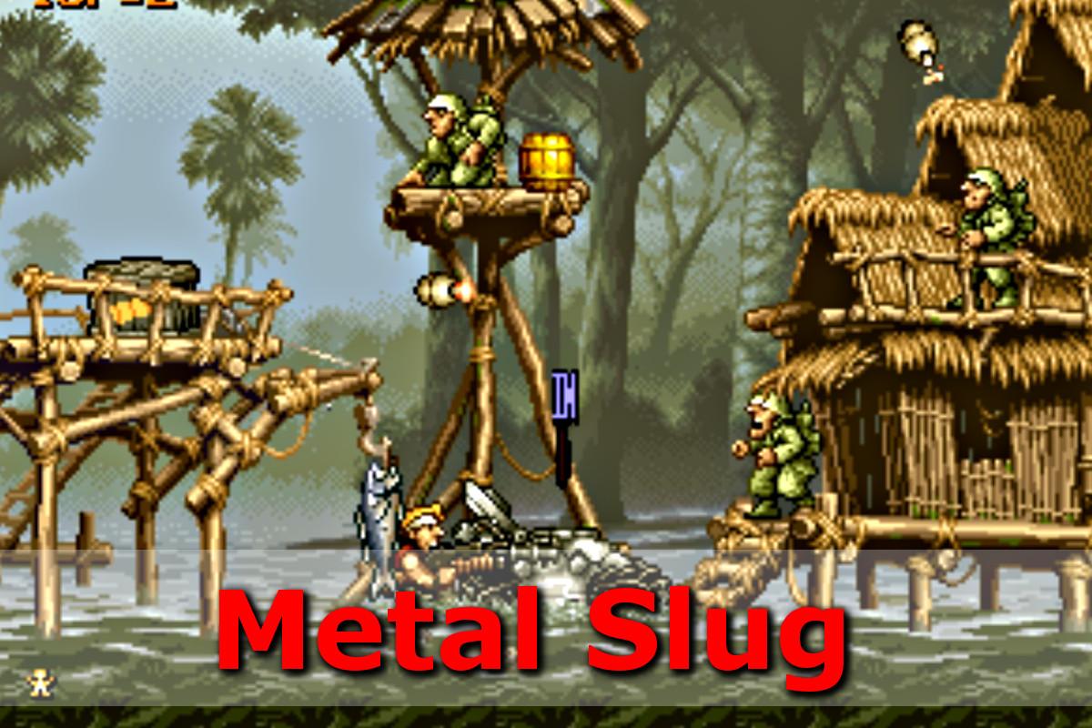 Gry retro - autmomaty na wynajem - metal slug