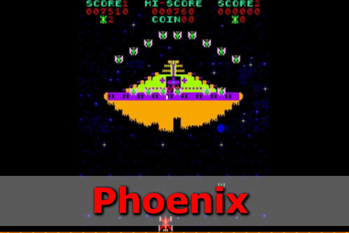 Gry retro - autmomaty na wynajem - phoenix