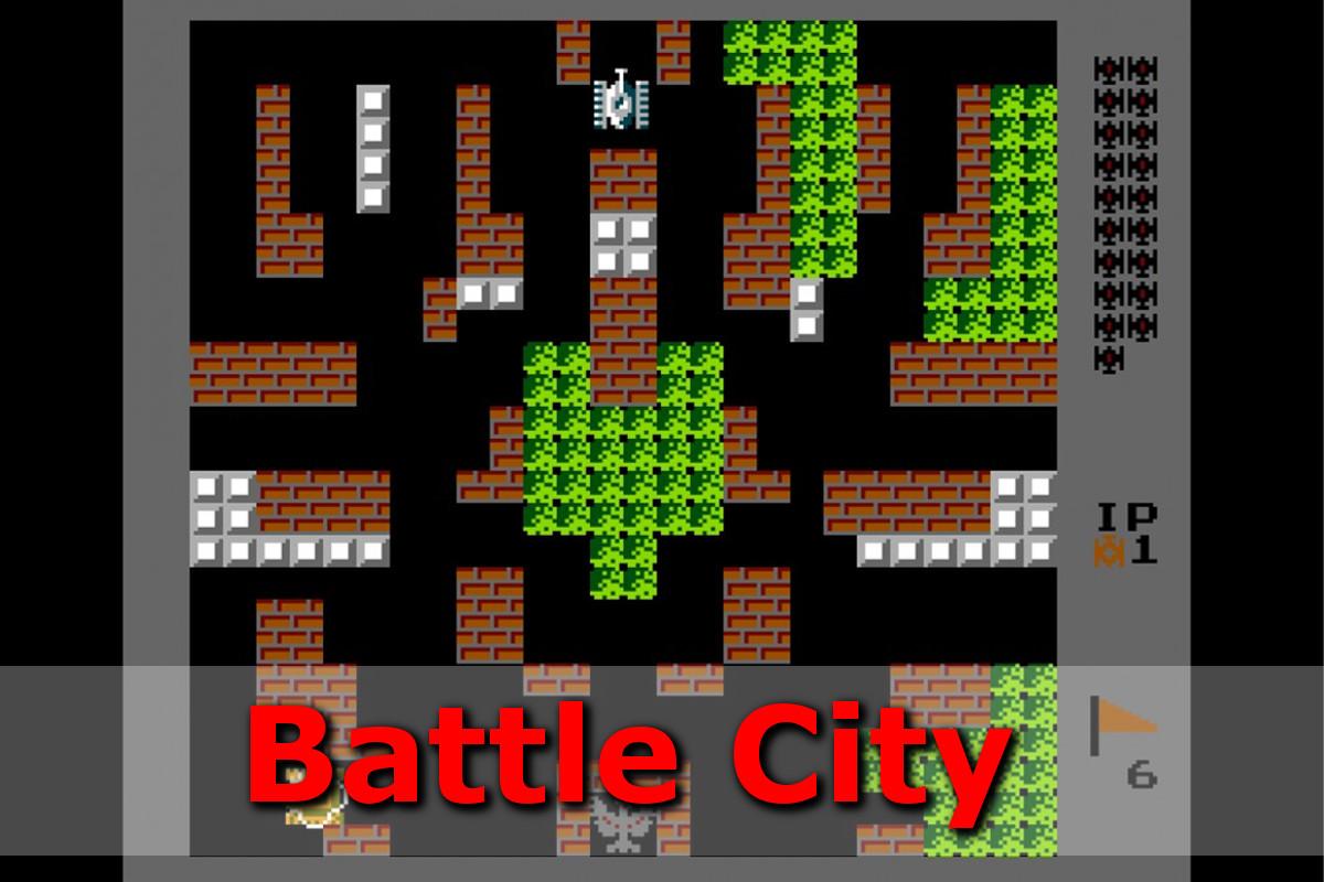Gry retro - autmomaty na wynajem - battle city