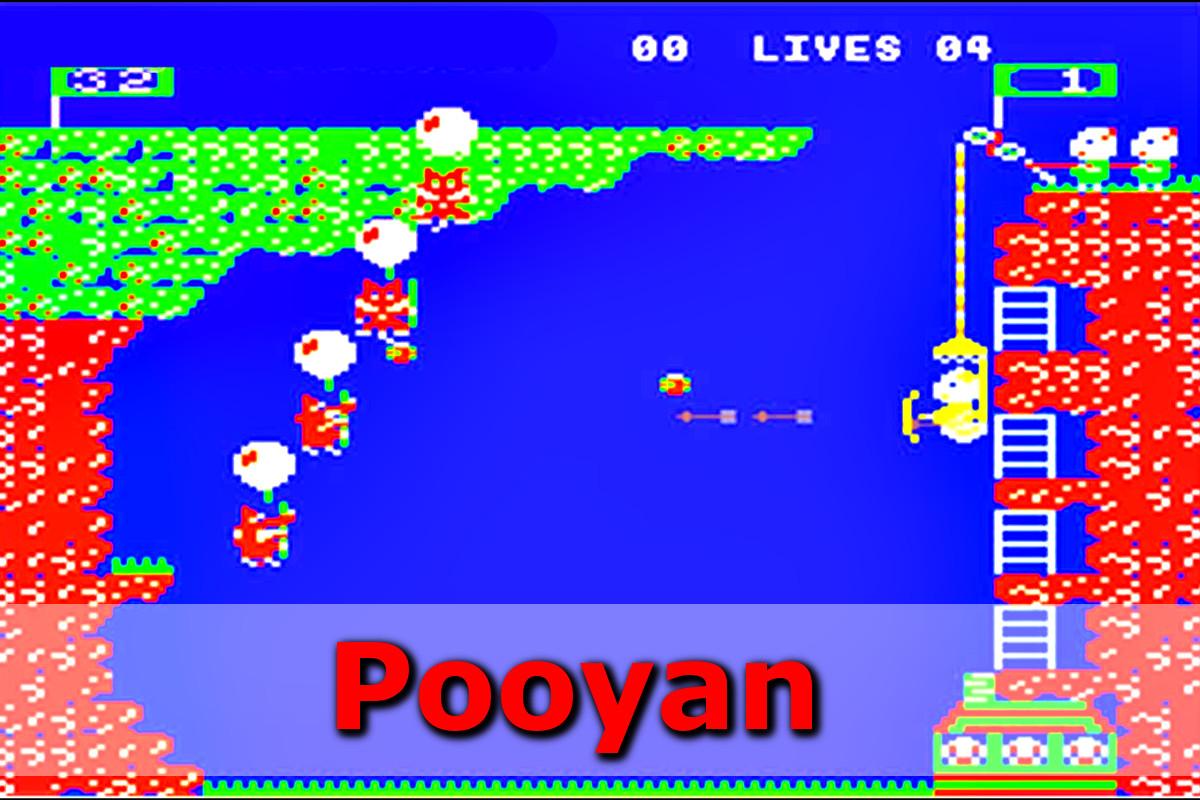 Gry retro - autmomaty na wynajem - pooyan