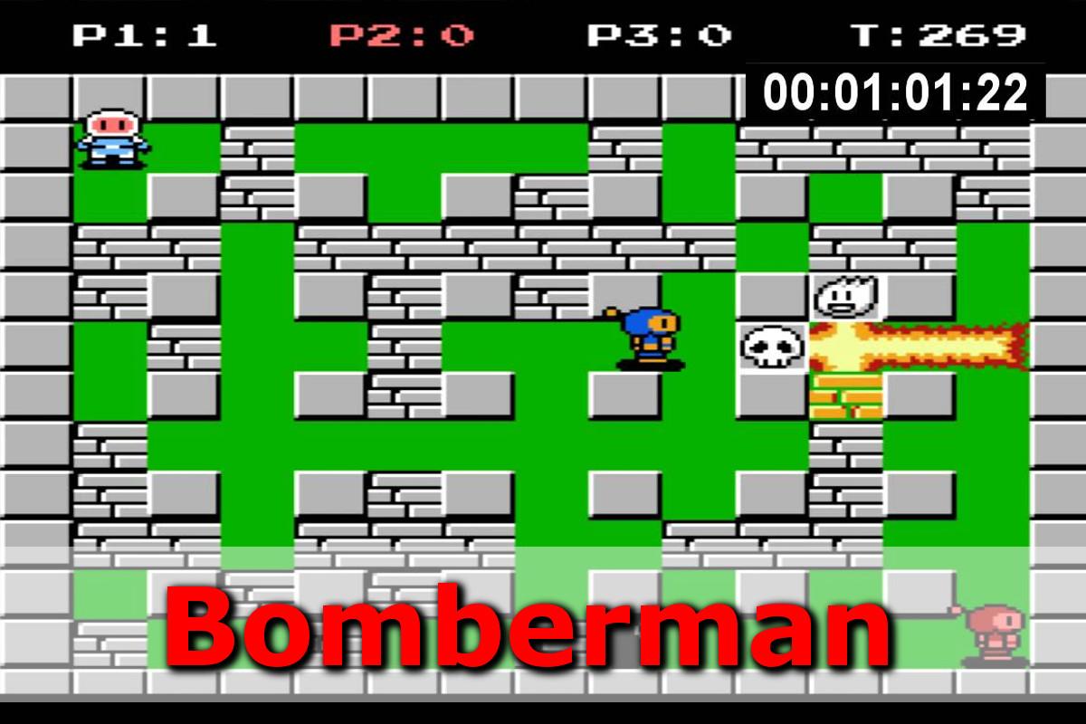 Gry retro - autmomaty na wynajem - bomberman