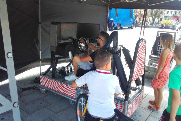 911 - symulator poduszki powietrznej - symulator jazdy