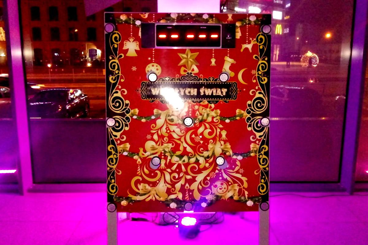 962 - sanie mikołaja - refleksomierz świąteczny